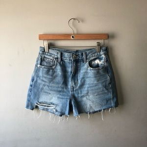 Distressed AEO Shorts